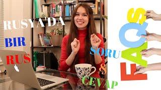 TÜRKÇE KONUŞAN RUS | KSENIA MAYAKOVA | SORU & CEVAP