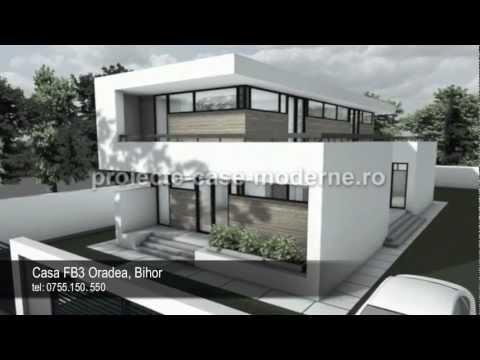 Proiecte case mici | Model casa FB3 Oradea - YouTube
