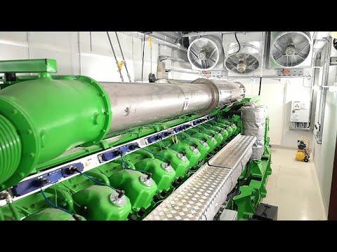 INNIO Jenbacher J624 Gasmotor Start Up