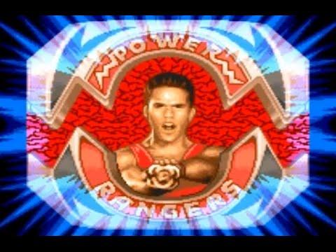 mighty morphin power ranger the movie snes hard mo