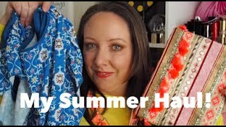 My summer haul! Zara Home, Kiko, Cortefiel & more! // Lovely Girlie Bits