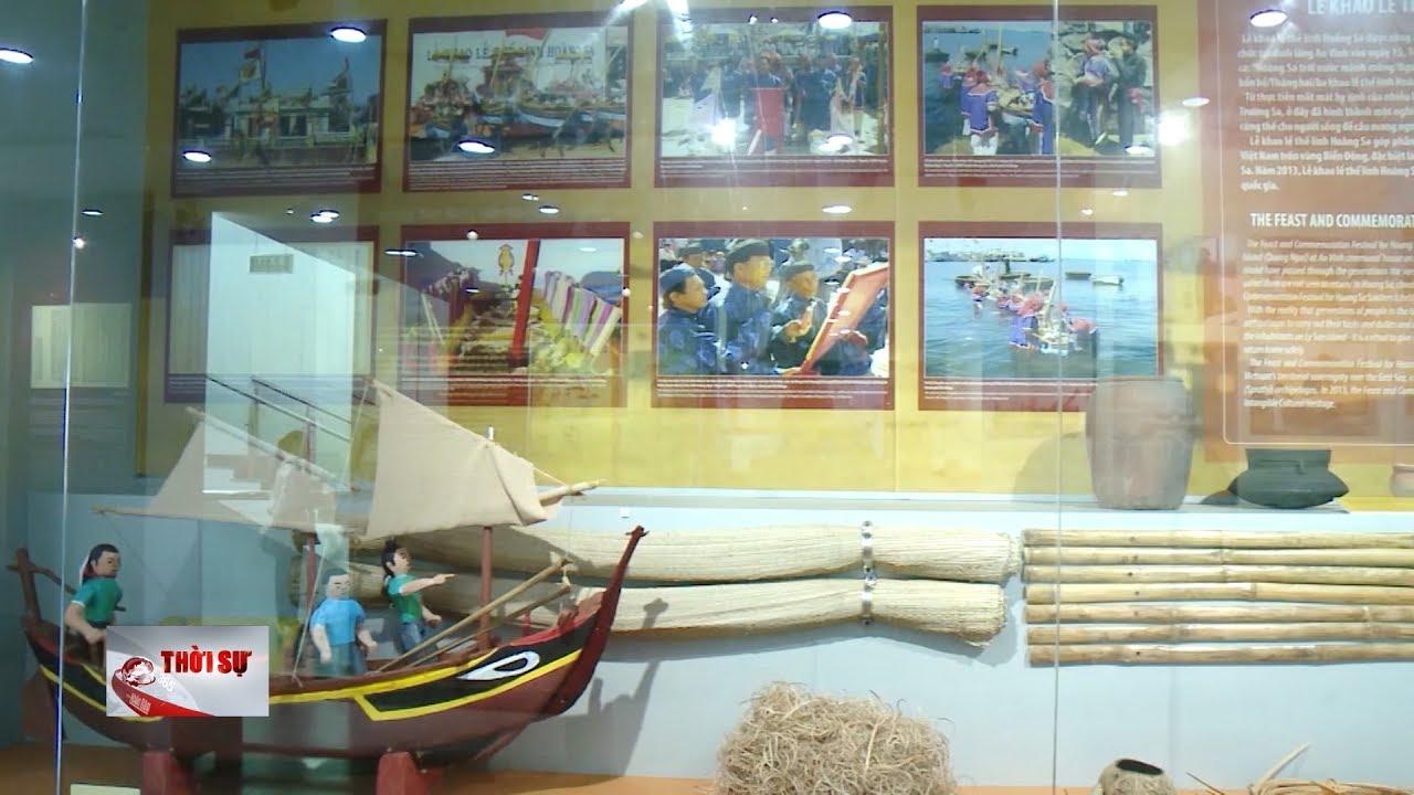Nhà trưng bày Hoàng Sa Đà Nẵng được công nhận là điểm du lịch