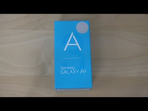Samsung Galaxy A3 - Unboxing (4K)