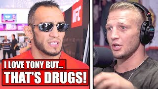 Fighter accuses Tony Ferguson of drug use after recent personal issues! - Till on UFC London loss