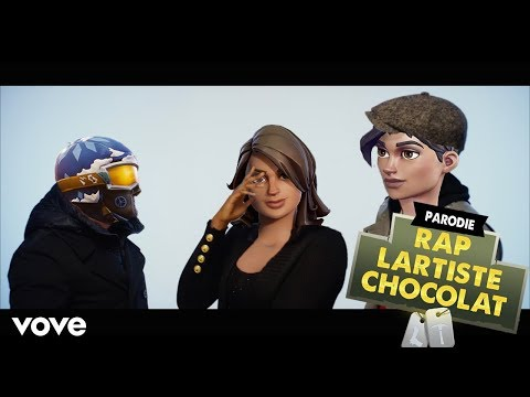 LARTISTE - CHOCOLAT (PARODIE FORTNITE)
