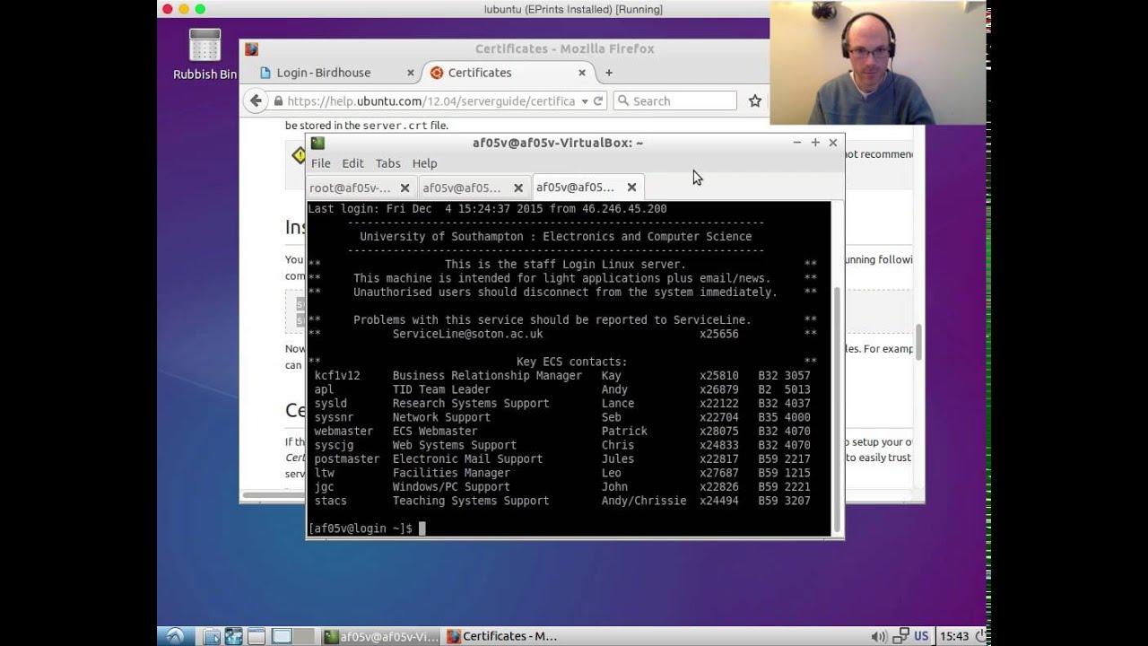 Configuring SSL