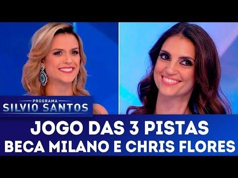 Jogo das 3 Pistas - Completo | Programa Silvio Santos (24/12/17)