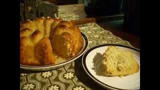 Citrus Sunrise Bundt Cake, The Finished Cake