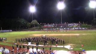 """Ku`u Ipo I Ka He`e Pu`e One"" by `Iolani School Marching Band@2011 Festival of Bands"