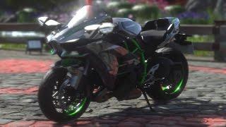 DRIVECLUB™ BIKES - Kawasaki Ninja H2 - Gameplay