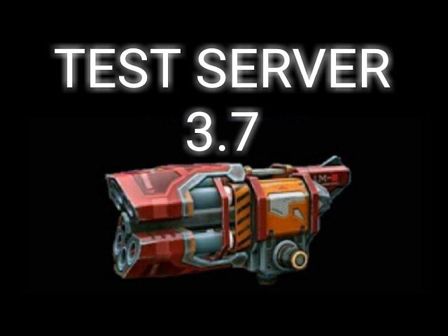 WAR ROBOTS Test  Server  3.7 #1