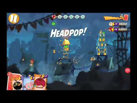 2020/05/24 Angry Birds 2 Daily Challenge(4-5-6 Rooms)&King Pig Panic