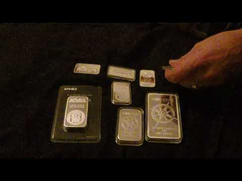 New obsession with silver bars. Espcially APMEX and Provident metals bars
