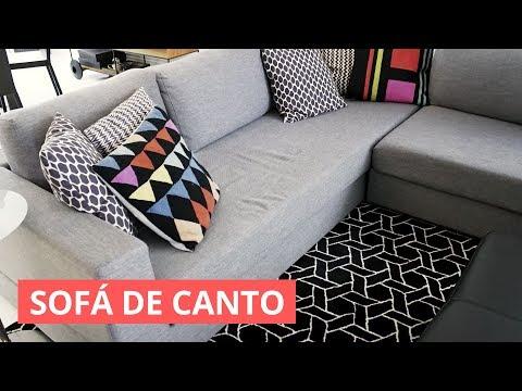 Como Usar Sofá De Canto Dica De Decoração Youtube