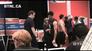 Christopher Gibson , NHL COMBINE 2011 - BTNL HOCKEY TRAINING