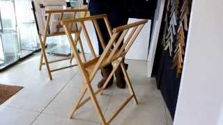 Loxley Wooden Display Print Rack How To Set It Up