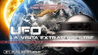 #UFO LA VISITA EXTRATERRESTRE: siamo pronti per il #contatto cosmico? - BARI