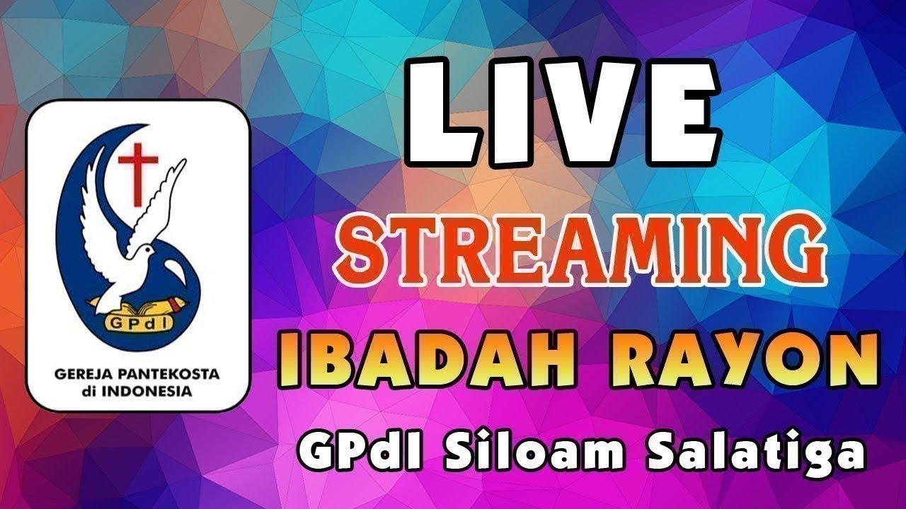 Ibadah Rayon GPdI Siloam Salatiga, 5 Agustus 2020