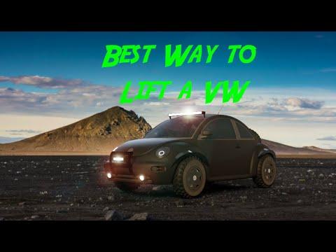 The Best Way to Lift a mark IV VW   Beetle, Golf, Jetta   Deep Dive