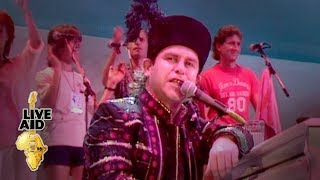 Download Elton John - Bennie And The Jets (Live Aid 1985) Mp3 and Videos