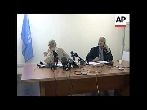 UN chief envoy to Sudan on Darfur situation, President's advisor on AU troops