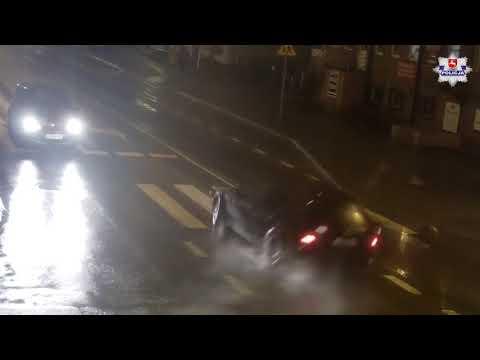Kierowca bmw o mało nie doprowadził do wypadku