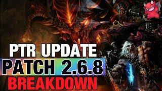 Updated PTR Patch 2.6.8 & Season End Date Diablo 3