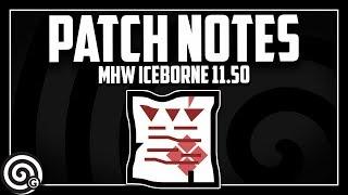 UPDATE 11.50 - The one that fixes Elder's Recess | MHW Iceborne