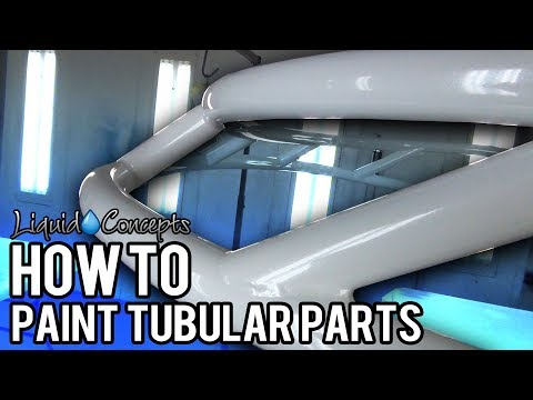 HOW TO PAINT TUBULAR PARTS | Liquid Concepts | Weekly Tips and Tricks