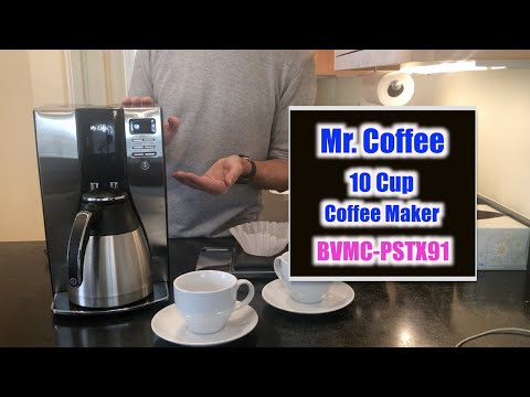"""Mr Coffee BVMC-PSTX91 """"How To"""" Instructions and Review"""
