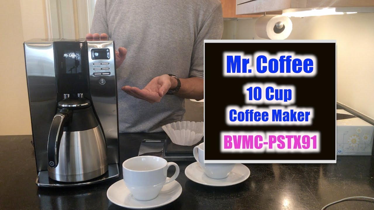 Mr Coffee Review And Instructions Bvmc Pstx91 What To Know Youtube
