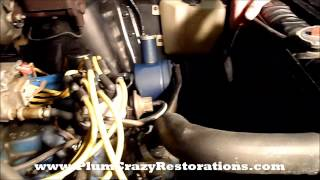 1967 Ford Fairlane Convertible - Vehicle Hoist Inspection Topside (1)