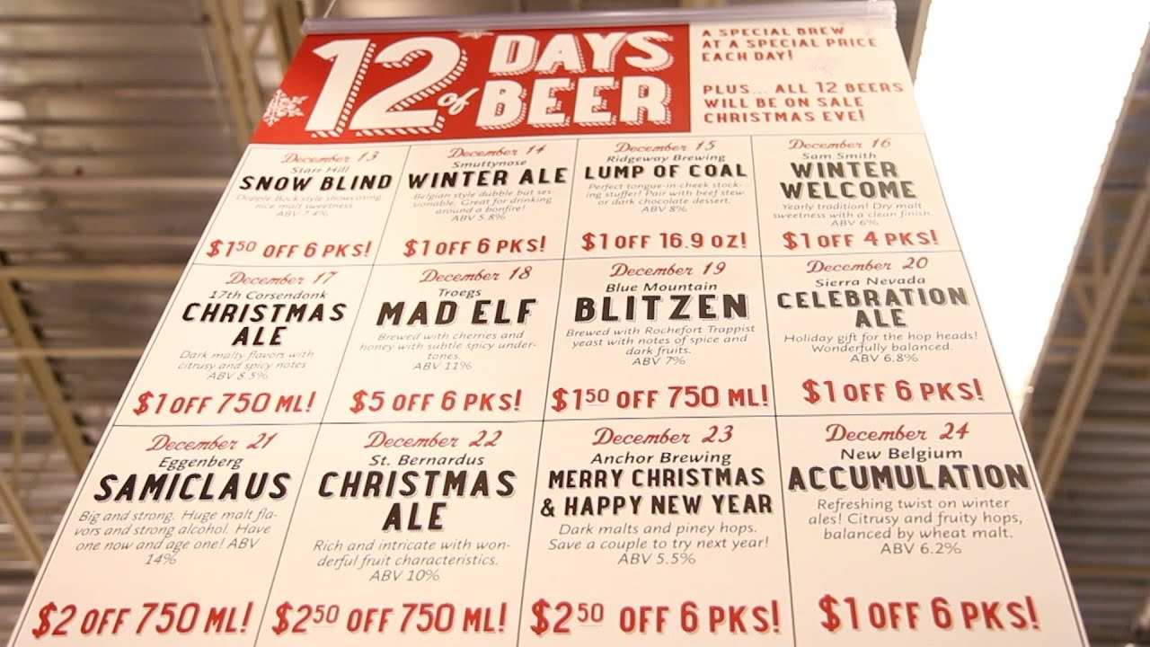 Whole Foods 12 Days of Beer - YouTube