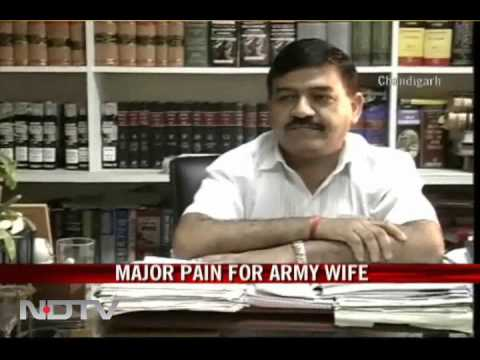 Major pain for Army wife