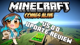 Minecraft Comes Alive v5.0.0 - Update Review