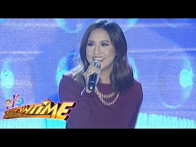"It's Showtime Singing Mo To: Jolina Magdangal sings ""Chuva Choo Choo"""
