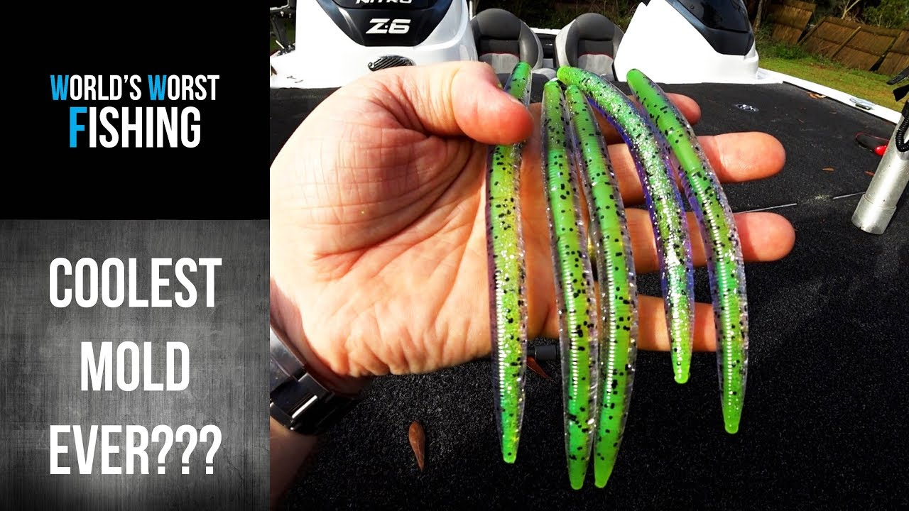 CORE SHOT STICK WORM MOLD Demonstration  Bait Giveaway Winner Announced