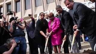 Groundbreaking for TEAL Center at Essex County Newark Tech
