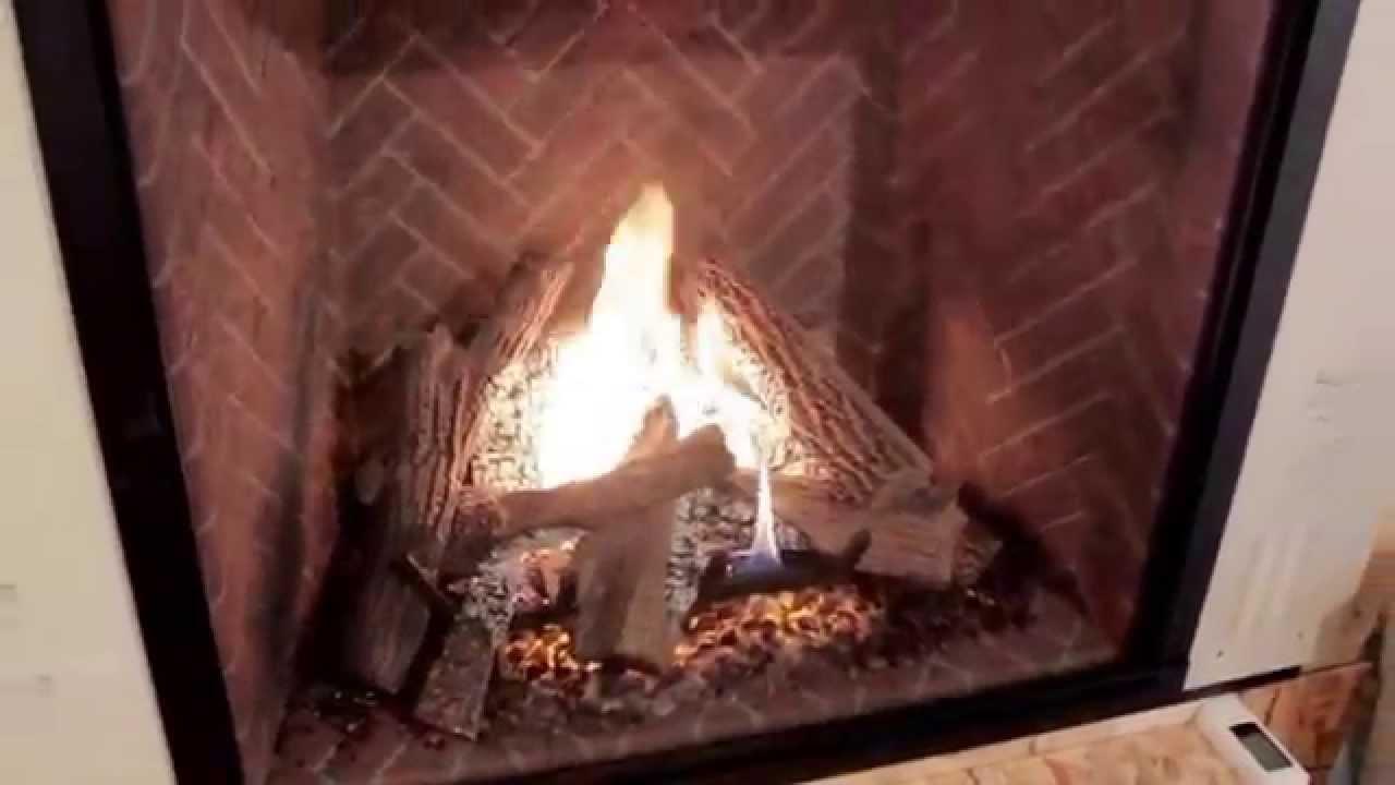 Heat & Glo True 42 Gas Fireplace - YouTube