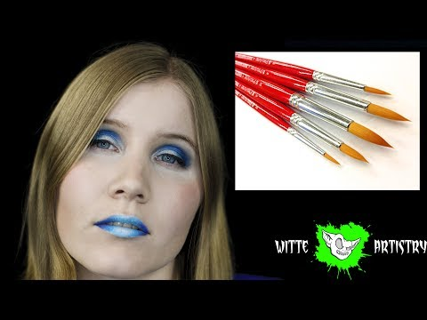 ✅ PRO ARTE FACE PAINTER BRUSH SET First Impressions and Unboxing - Witte Artistry