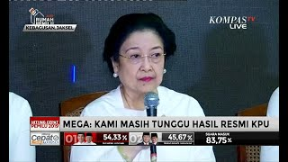 Megawati: Terima Kasih Banyak, Pak Prabowo!