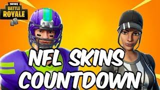 "Fortnite NEW ""NFL Skins"" Item Shop Countdown - Fortnite NFL Skins Gameplay Update (NFL FORTNITE)"