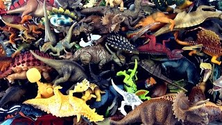 100 dinosaurs stacked - Count to 100 - Learn dinosaur names - Stack Up the Dinosaurs