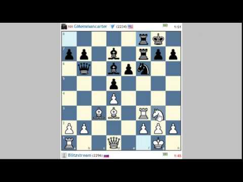 Parties d'échecs commentées en direct #5 une défense française instructive contre un maitre