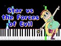 Theme Song Star Vs The Forces Of Evil Piano Arrangement Synthesia By TAM mp3
