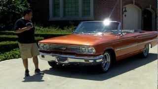 1963 Ford Galaxie Convertible Classic Muscle Car for Sale in MI Vanguard Motor Sales