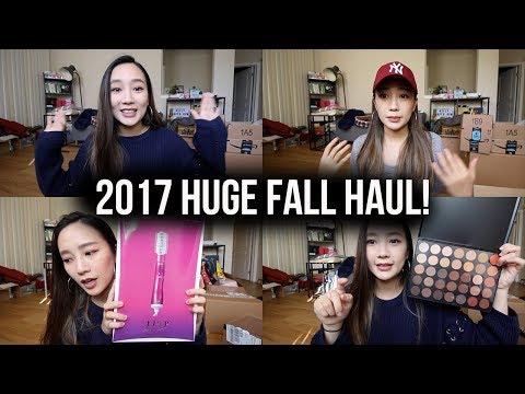 來喔!很久沒出現的敗家購物分享 ♥ 2017 HUGE FALL HAUL