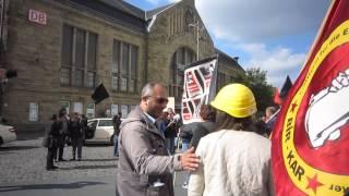 Demo Soma kein Arbeitsunfall Bielefeld 1