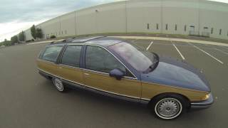 Review for 1994 Buick Roadmaster Woody Estate Wagon 5.7L chevy 350 LT1 Engine 132K Miles