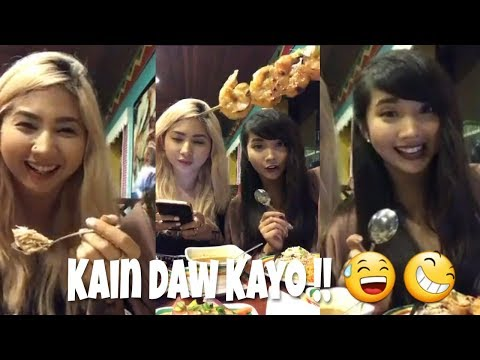 """Alodia's """"Last Dinner In Guam"""" goes Live with Sis Ashley."""